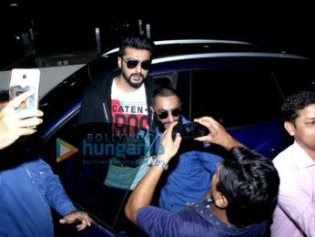 Arjun Kapoor and Ayushmann Khurrana snapped at the airport