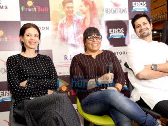 Cast of Ribbon for press meet in New Delhi