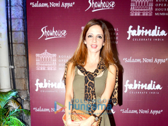 Celebs at the special preview of 'Salaam, Noni Appa' at the Royal Opera House