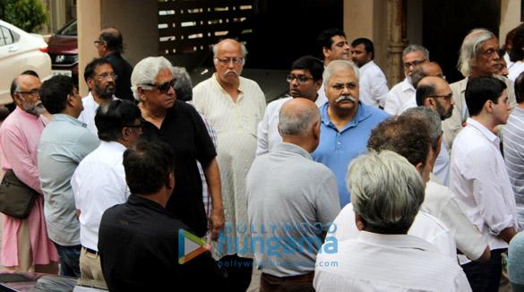Kundan Shah's funeral