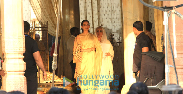 Check out Kangana Ranaut shoots for Manikarnika The Queen of Jhansi in Jaipur2