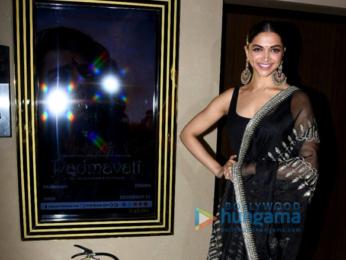 Deepika Padukone promotes Padmavati