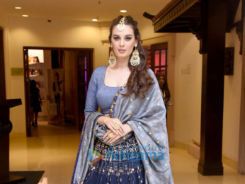 Evelyn Sharma snapped at the Indian Beach Fashion Week 2017