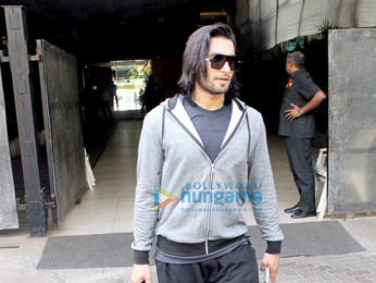 Farhan Akhtar and Ranveer Singh spotted outside Otters Club