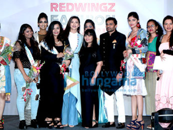 Gauahar Khan attends 'Redwingz Fashion Fervent 2017'