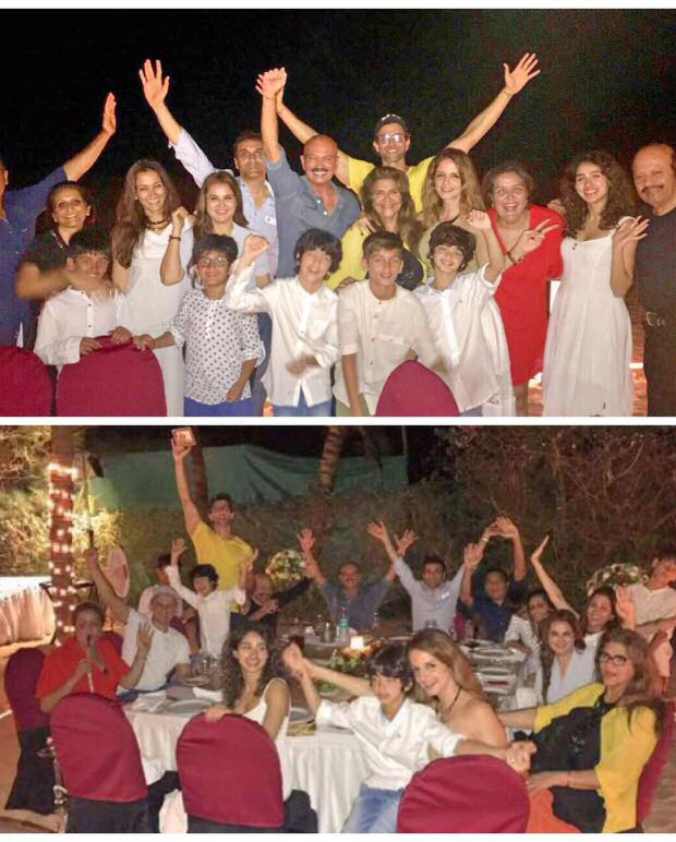 Hrithik Roshan rings in mother's birthday in Goa with the entire clan and it looks super fun!2