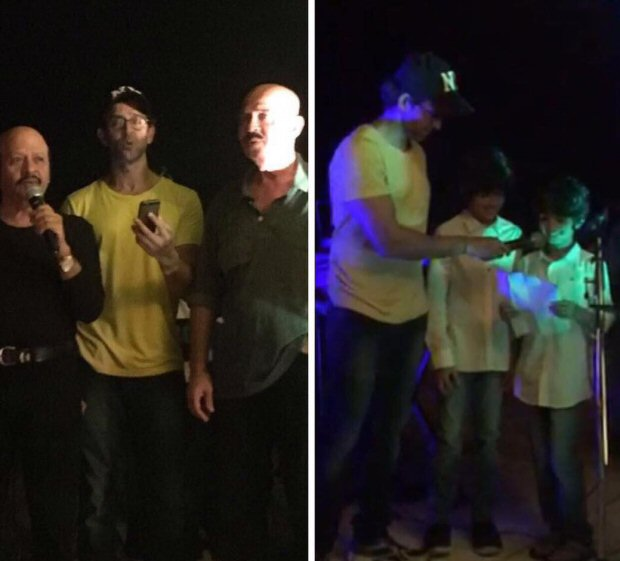 Hrithik Roshan rings in mother's birthday in Goa with the entire clan and it looks super fun!3