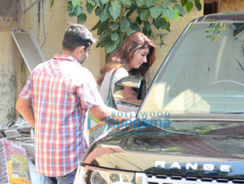 Twinkle Khanna snapped post her gym session