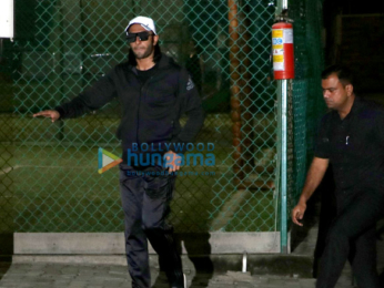 Ranveer Singh spotted at a foot ball ground in Bandra