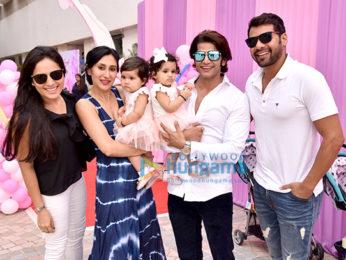 Karanvir Bohra and Teejay Sidhu's daughter's birthday bash