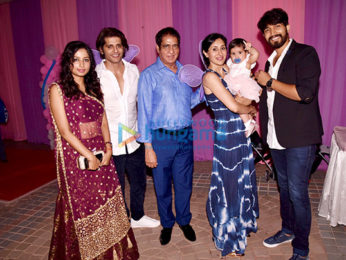 Karanvir Bohra and Teejay Sidhu's daughter's birthday bash