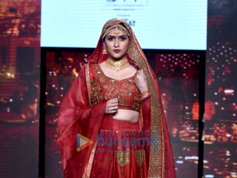 Mannara walks the ramp at the 'India Beach Fashion Week 2017'