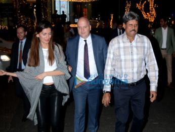 Rhea Chakraborty and Kapil Dev snapped in Juhu