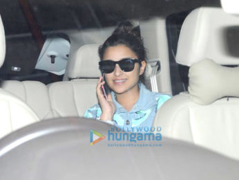 Parineeti Chopra arrives from Goa