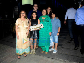 Raveena Tandon spotted with family at Hakkasan