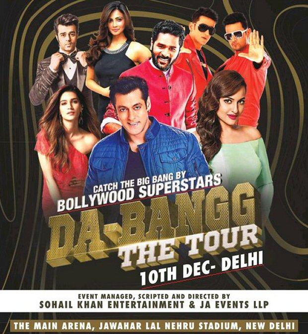 Salman Khan's Da-Bangg The Tour