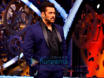 Salman Khan shoots for an episode of 'Bigg Boss 11