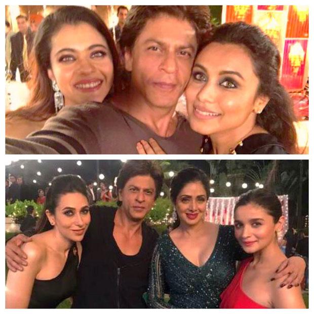 Shah Rukh Khan reunites with Kuch Kuch Hota Hai ladies ...Shahrukh Khan Daughter In Kuch Kuch Hota Hai