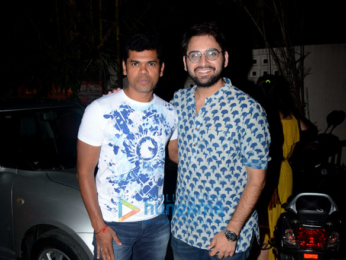 Siddharth, Sachin Pilgaonkar and others snapped after watching 'Faster Fene' at Sunny Super Sound