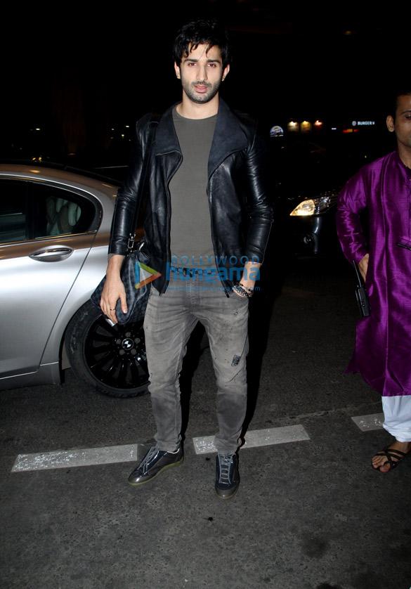 Sidhant Gupta snapped at the airport