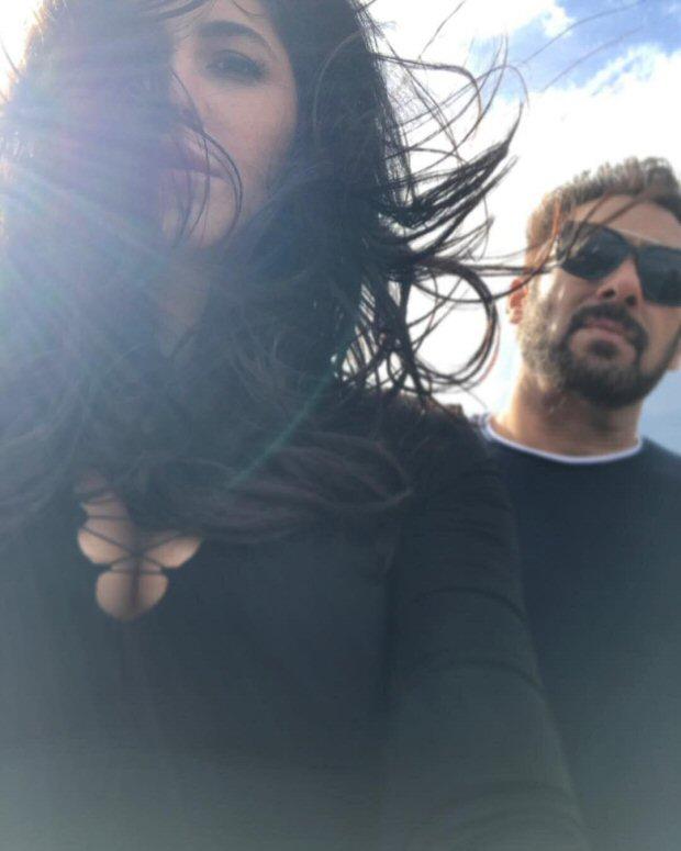Tiger Zinda Hai Salman Khan and Katrina Kaif hang out while shooting for a song in Greece