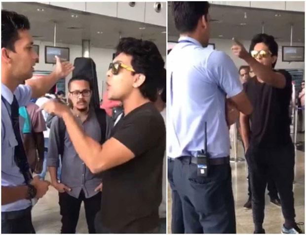 WATCH: Aditya Narayan caught on camera misbehaving with