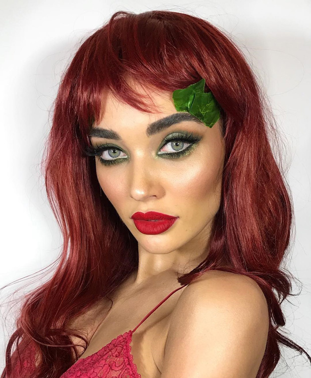 WOW! Check out Amy Jackson as Poison Ivy for a pre-Halloween bash in London