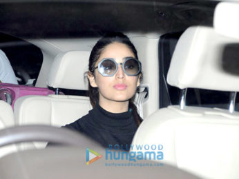 Yami Gautam arrives from Chandigrah with her sister
