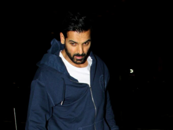 Aamir Khan and John Abraham arrives at the airport