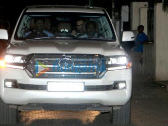 Aamir Khan visits Rani Mukerji's and Aditya Chopra's home