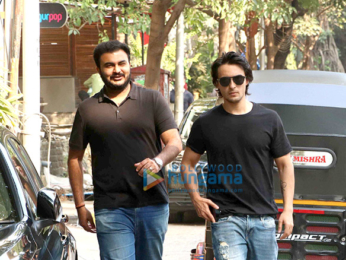 Aayush Sharma snapped in Bandra