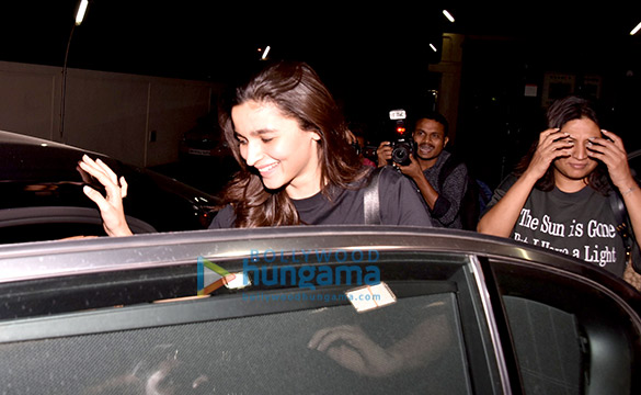 Alia Bhatt snapped at PVR Juhu