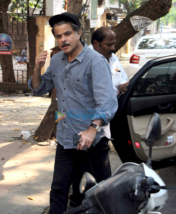 Anil Kapoor spotted at BBLUNT salon