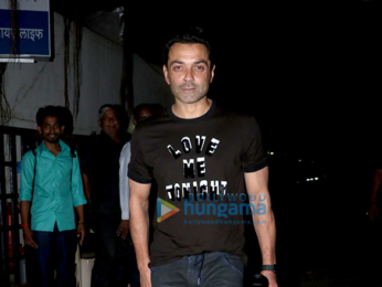Bobby Deol snapped in Bandra