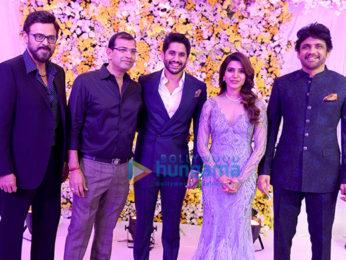 Celebs grace Samantha Ruth Prabhu and Naga Chaitanya's wedding reception