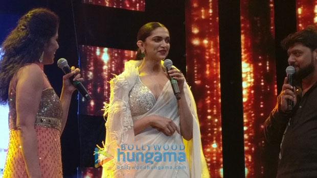 Deepika Padukone gets felicitatMovie Awards in Sharjah