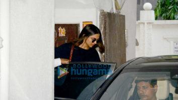 Deepika Padukone snapped at a clinic