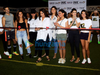 Dino Morea, Mandana Karimi and Shibani Dandekar grace the Roots premiere league match