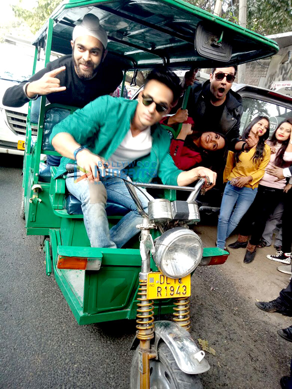 Fukrey Returns team turn Fukra's on Delhi streets