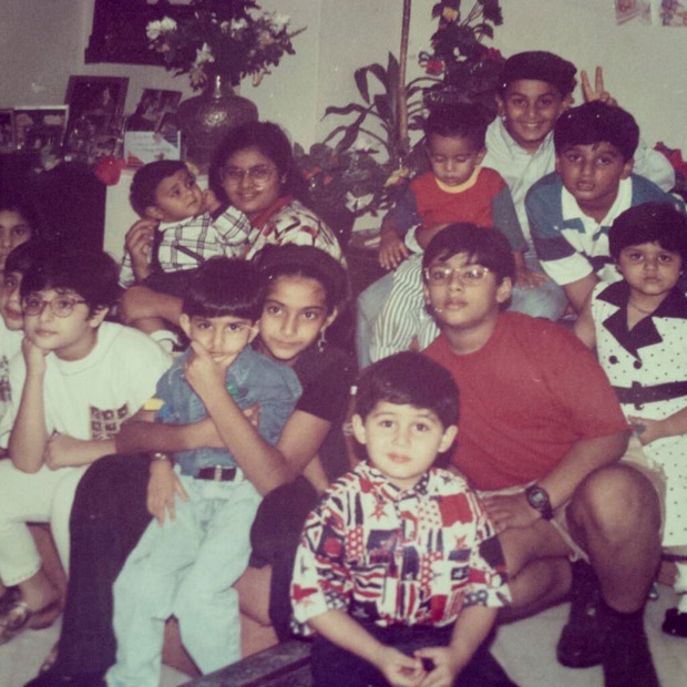 GUESS WHO Arjun Kapoor shares a photo from childhood on Children's Day who are now Bollywood stars1