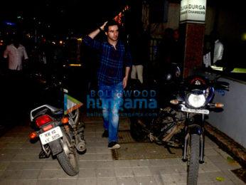 Girish Kumar snapped in Bandra