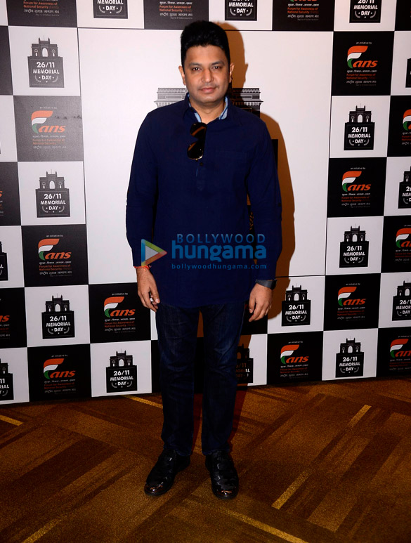Gurmeet Choudhary and Bhushan Kumar grace at 26/11 Memorial Day