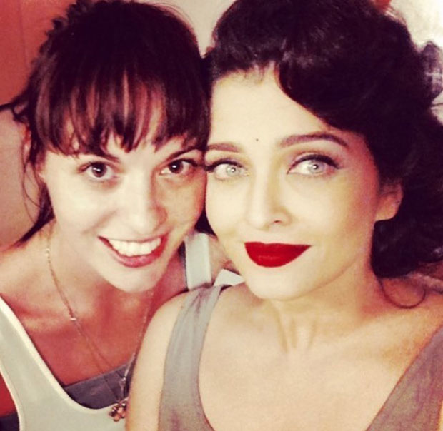 Hairdresser Bianca Hartkopf posts a wonderful picture with Aishwarya Rai Bachchan
