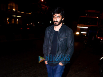 Harshvardhan Kapoor spotted at Estella, Juhu