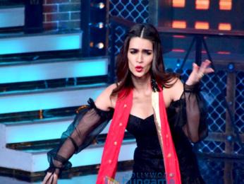 Hrithik Roshan, Kriti Sanon and Rajkummar Rao snapped on sets of Farah Khan's Lip Sing Battle