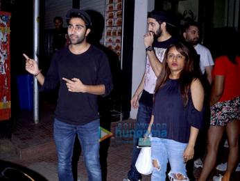 Huma Qureshi and Armaan Jain snapped at Bastian