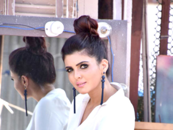 Ihana Dhillon snapped during a photoshoot