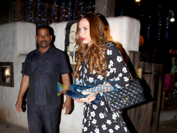 Iulia Vantur spotted at Aalim Hakim's salon in Bandra