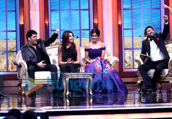 Kapil Sharma shoots for a special episode of 'Oye Firangi