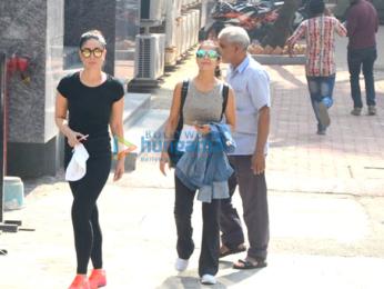 Kareena Kapoor Khan, Amrita Arora, Soha Ali Khan snapped at the gym